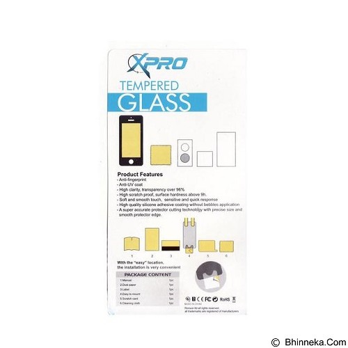 XPRO Tempered Glass Xiaomi Mi4 - Clear (Merchant) - Screen Protector Handphone