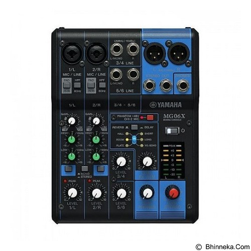 YAMAHA Analog Mixers [MG06X] - Mixer Live / Stage