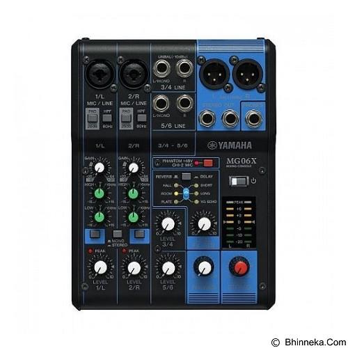 YAMAHA Analog Mixers [MG06X] - Mixer Live / Stage