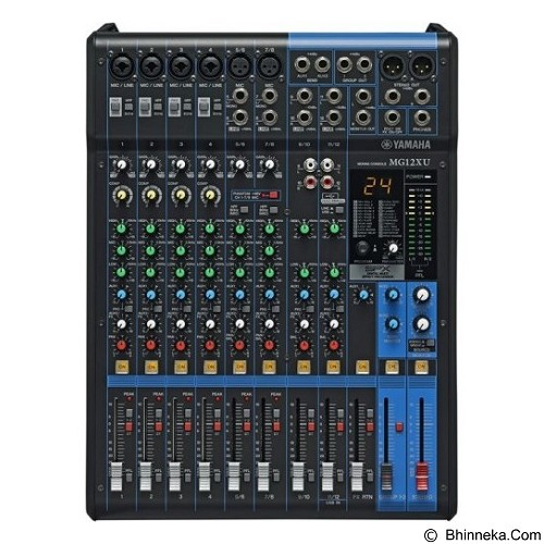 YAMAHA Analog Mixers [MG12XU] - Mixer Live / Stage