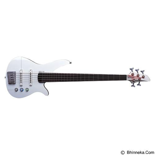 YAMAHA Bass Elektrik RBX Series [RBX5A2] - White & Aircraft Gray - Bass Elektrik