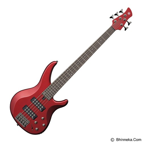 YAMAHA Bass Elektrik TRBX Series [TRBX305] - Candy Apple Red - Bass Elektrik