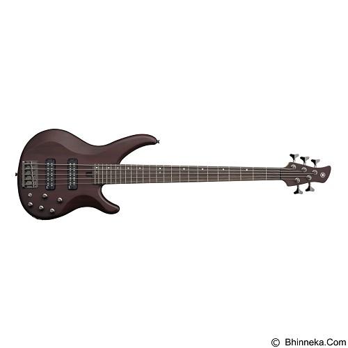 YAMAHA Bass Elektrik TRBX Series [TRBX505] - Translucent Brown - Bass Elektrik