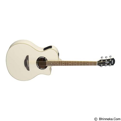 YAMAHA Gitar Akustik Elektrik [CPX500II] - White - Gitar Akustik Elektrik