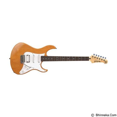 YAMAHA Gitar Elektrik Pacifica Series [PAC112J-YNS] - Yellow Natural Satin - Gitar Elektrik