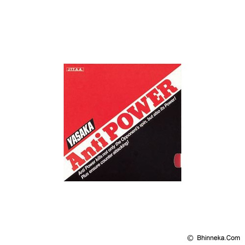 YASAKA Anti Power Max - Black - Aksesoris Raket