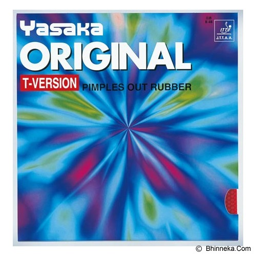 YASAKA Original T-Version 2.0mm - Black - Aksesoris Raket