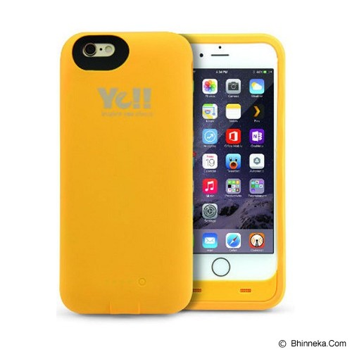 YE!! Energy Jacket 3000mAh [BPP6] - Yellow - Portable Charger / Power Bank