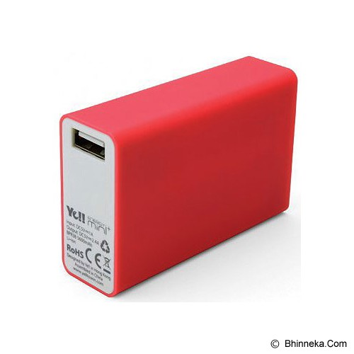 YE!! Power Bank BPR38 5600mah - Red - Portable Charger / Power Bank