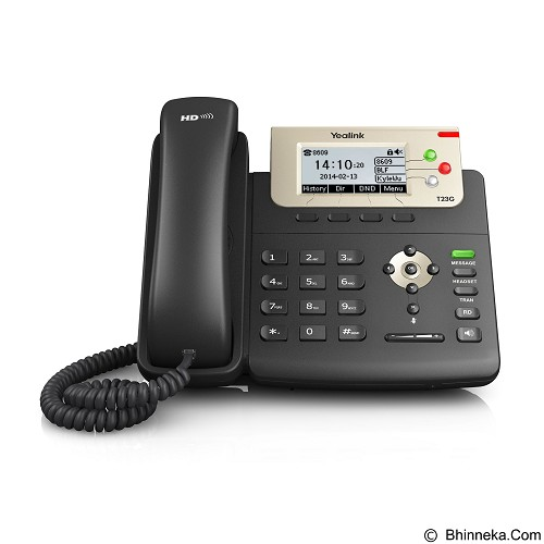YEALINK IP Phone [SIP T-23G] (Merchant) - Ip Phone