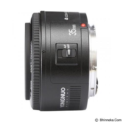 YONGNUO 35mm F/2 Lens For Canon EF Mount (Merchant) - Camera Slr Lens