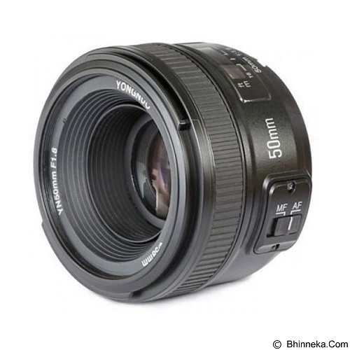 YONGNUO 50mm f/1.8 Lens For Nikon (Merchant) - Camera Slr Lens