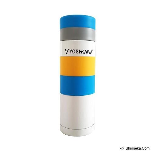 YOSHIKAWA Vacuum Bottle 300 ml [EL300] - White - Botol Minum