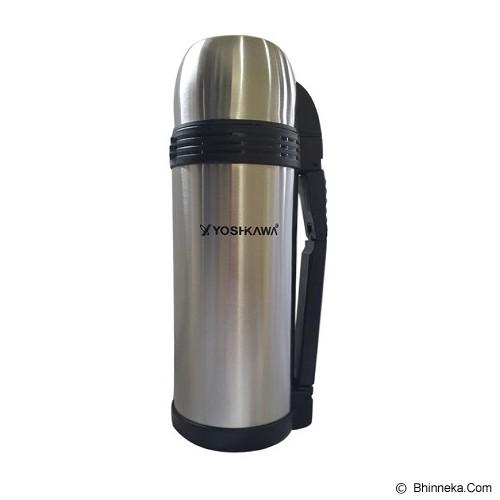 YOSHIKAWA Vacuum Flask 1.5 liter [YS150] - Silver - Botol Minum