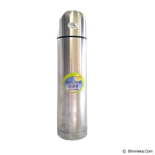 YOSHIKAWA Vacuum Flask 1 liter [YS100] - Silver - Botol Minum