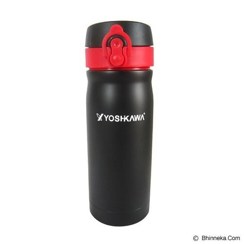 YOSHIKAWA Vacuum Flask 350 ml [ELT350] - Black - Botol Minum