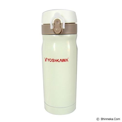 YOSHIKAWA Vacuum Flask 350 ml [ELT350] - White - Botol Minum
