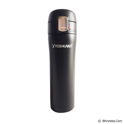 YOSHIKAWA Vacuum Flask 360 ml [ELK3602] - Black - Botol Minum