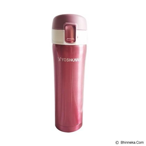YOSHIKAWA Vacuum Flask 480 ml [ELK4802] - Pink - Botol Minum