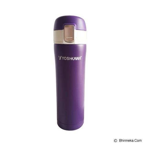 YOSHIKAWA Vacuum Flask 480 ml [ELK4802] - Violet - Botol Minum