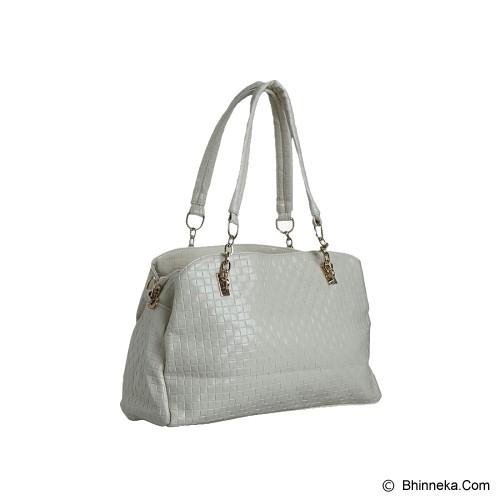 YOU'VE Cathrina Textured Handbag - White - Shoulder Bag Wanita