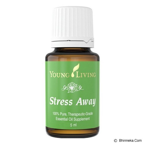 YOUNG LIVING Essential Oil 5ml - Stress Away - Obat Panas, Pusing, dan Nyeri