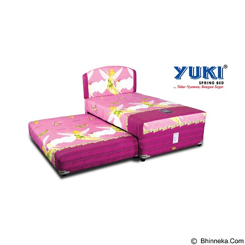 YUKI SPRINGBED Medium Comfort [2IN1-MC-TB56-120-SOKLS] (Merchant) - Kasur