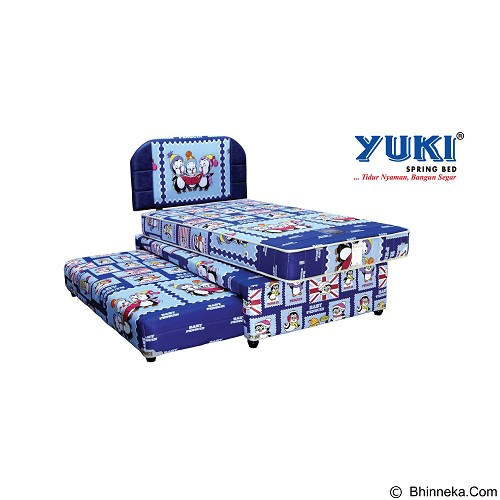 YUKI SPRINGBED Medium Comfort [3IN1-MC-BP47-120-SBLS] (Merchant) - Kasur
