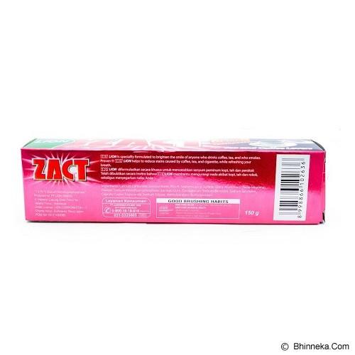ZACT Toothpaste 90gr Isi 3 - Pasta Gigi