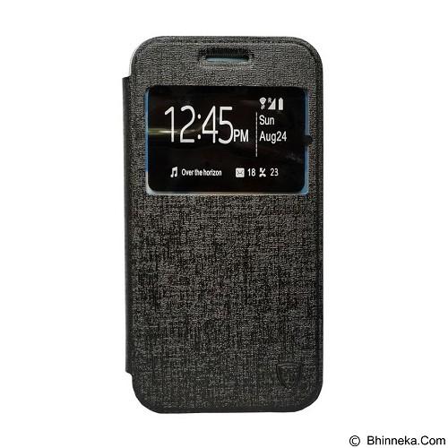 ZAGBOX Flip Cover Infinix Hot 2 X510 - Black (Merchant) - Casing Handphone / Case