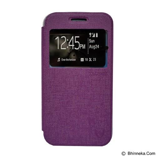 ZAGBOX Flip Cover Samsung Galaxy Note 4 - Purple (Merchant) - Casing Handphone / Case