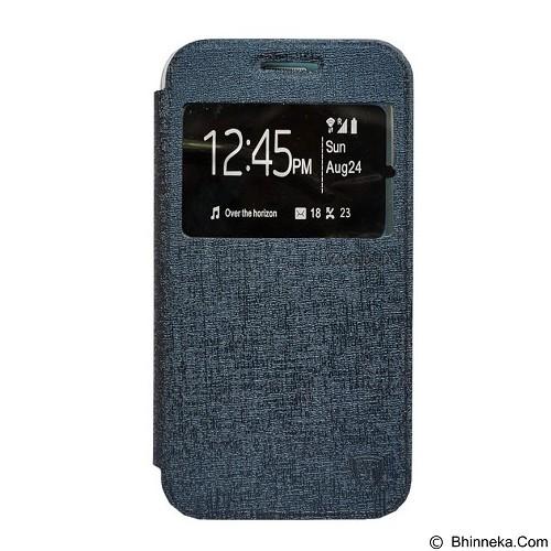ZAGBOX Flip Cover for Advan S5E - Navy (Merchant) - Casing Handphone / Case