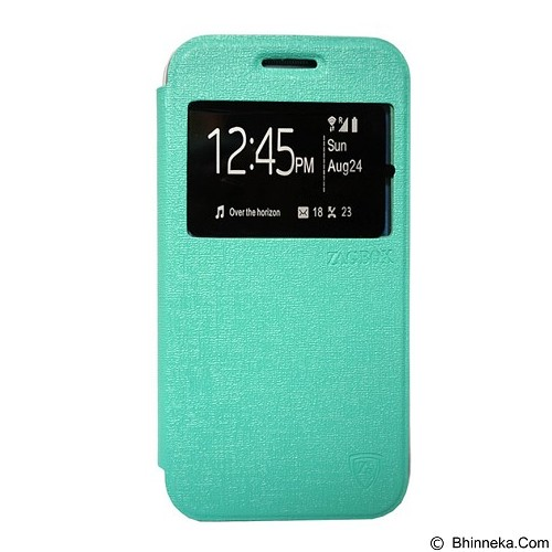 ZAGBOX Flip Cover for Apple iPhone 7 4.7 - Tosca (Merchant) - Casing Handphone / Case