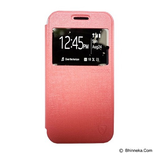 ZAGBOX Flip Cover for Oppo Neo K - Pink (Merchant) - Casing Handphone / Case