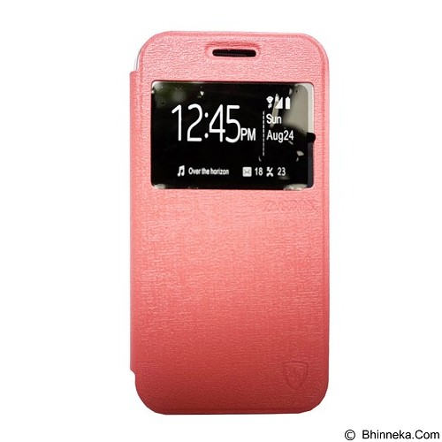 ZAGBOX Flip Cover for Samsung Galaxy E5 - Pink (Merchant) - Casing Handphone / Case