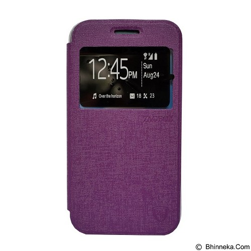 ZAGBOX Flip Cover for Samsung Galaxy S7 Edge  - Purple (Merchant) - Casing Handphone / Case