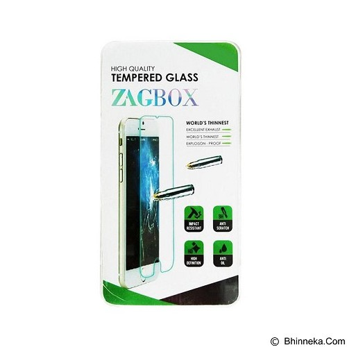 ZAGBOX Tempered Glass Samsung Galaxy A8 - Clear (Merchant) - Screen Protector Handphone