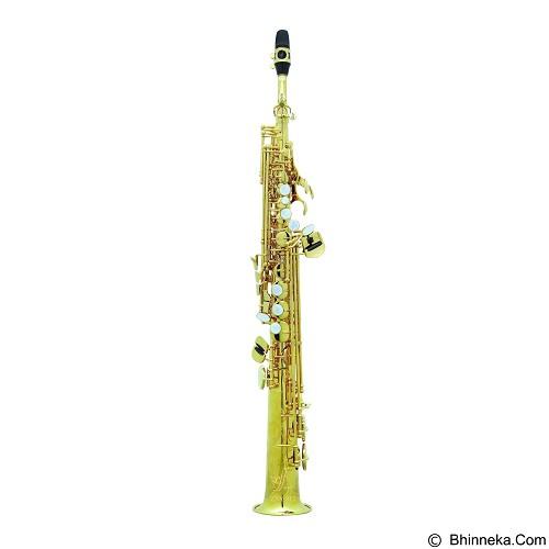 ZEFF FRANCE Saxophone Sopran [ZSS-812] - Gold - Saksofon / Saxophone