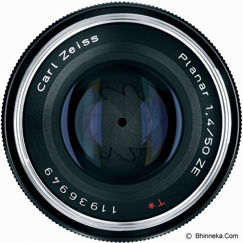 ZEISS Planar T* 50mm f/1.4 ZE Manual for Canon - Camera SLR Lens