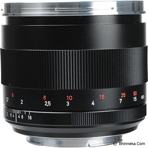 ZEISS Planar T* 85mm f/1.4 ZE  Manual for Canon - Camera Slr Lens