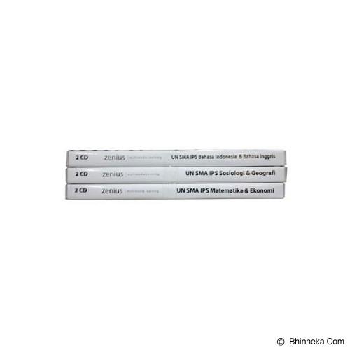 ZENIUS Paket Zenius UN SMA IPS [UA32] - Buku Soal Latihan Un & Snmptn