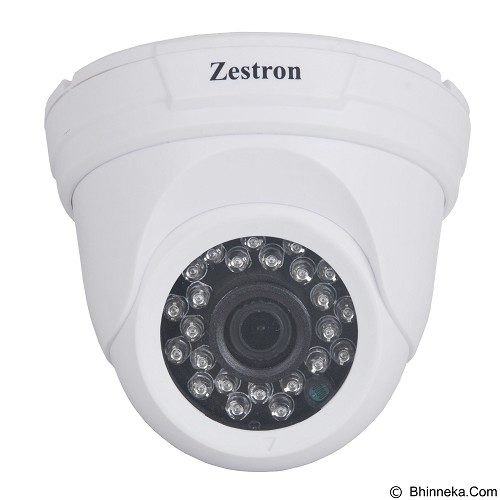 ZESTRON 2MP IR Dome Analog High Devinition Camera [ZDA201] (Merchant) - Cctv Camera