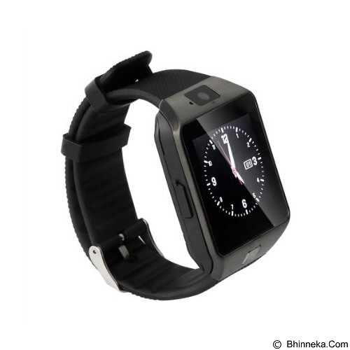 ZGPAX Smartwatch [DZ09] - Full Black (Merchant) - Smart Watches