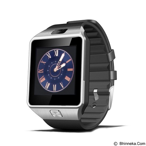 ZGPAX Smartwatch [DZ09] - Silver Black (Merchant) - Smart Watches