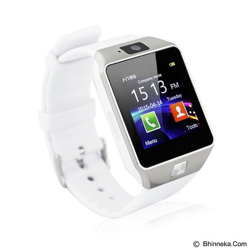 ZGPAX Smartwatch [DZ09] - White (Merchant) - Smart Watches