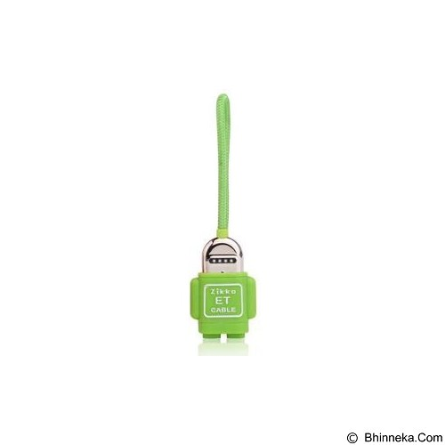ZIKKO ET Lightning to USB Cable [ET015R] - Green - Cable / Connector Usb