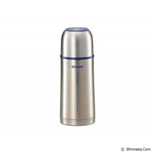 ZOJIRUSHI Tuff Slim Thermos Bottle 350ml [ZJ-350] - Silver - Botol Minum