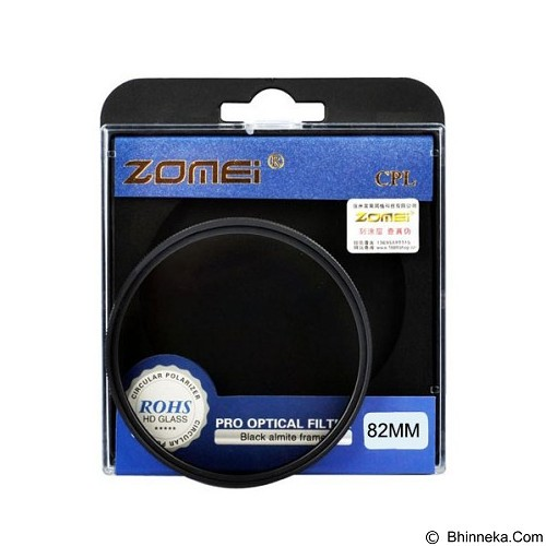 ZOMEI Filter CPL 82mm - Filter Polarizer