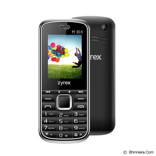 ZYREX M303x - Black - Handphone GSM