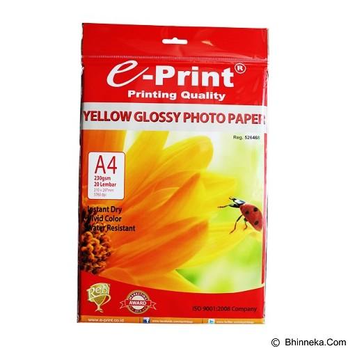 e-Print Glossy Photopaper Yellow A4 [PP-GLO-010] - Kertas Foto / Photo Paper